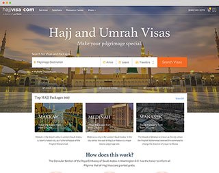 Preview image of HajjVisa.com